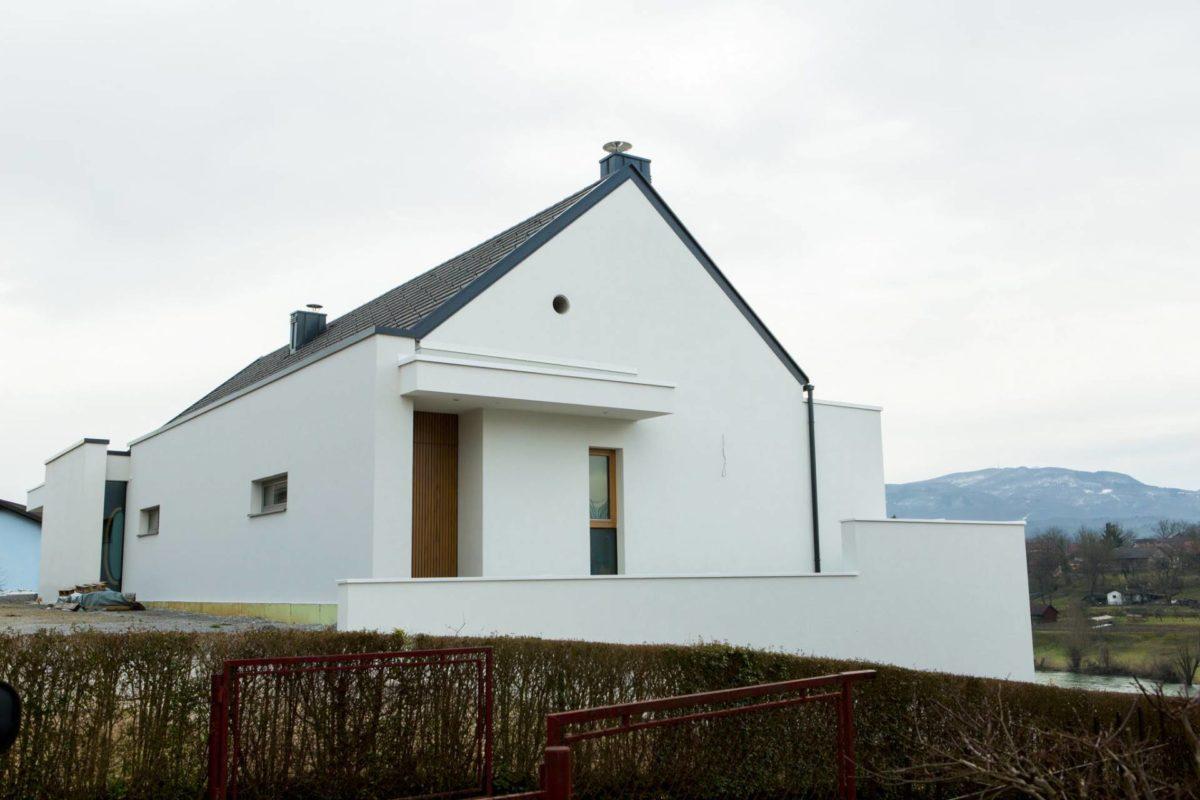 Gradnja enostanovanjske vile
