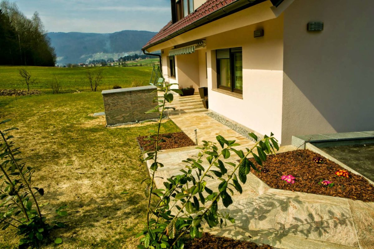 Izvedba zunanje ureditve in fasade